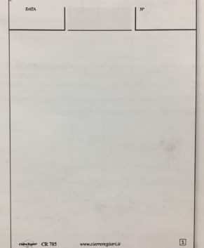 Blocco Comande Generiche 14x9,2 a 2 Copie